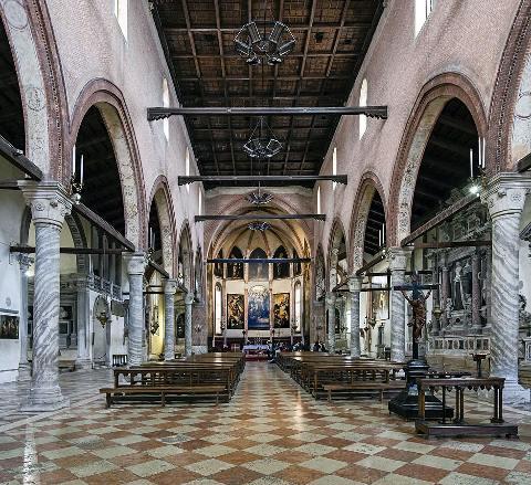 Venezia, Chiesa Madonna dell'Orto