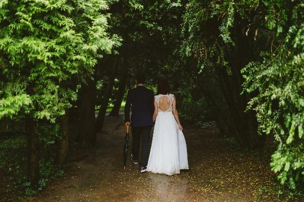 Abito da sposa matrimonio in autunno